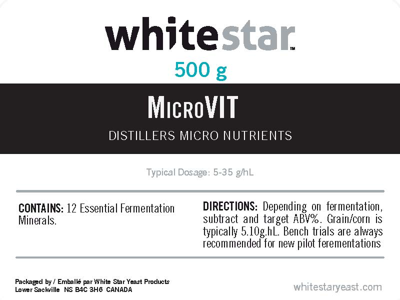 Product image for MicroVit Distillers Micro Nutrients